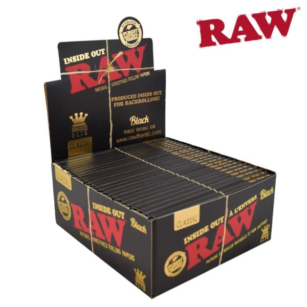 RAW BLACK Insideout King Size Slim - SMK764 (2)