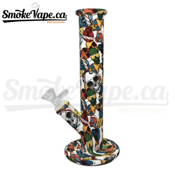 PIP120-Cartoon-Silicone-10inches-tube-water-pipe