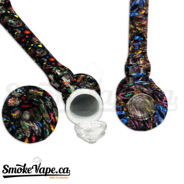 PIP121-8inches-ilicone-Hammer-Bubbler-Dabber-Included-1