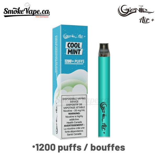 GenieAirPlus-VAP890-1200puffs Cool Mint)